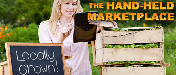 The Hand-Held Marketplace
