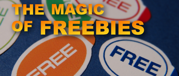 The Magic of Freebies